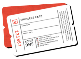 Luna Palace Privilege Card