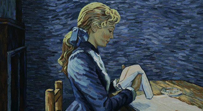 Loving Vincent Painting Room