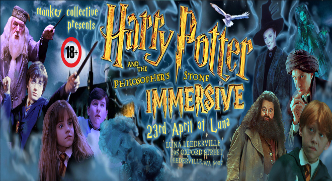 2186 HARRY POTTER & THE PHILOSOPHERS STONE IMMERSIVE