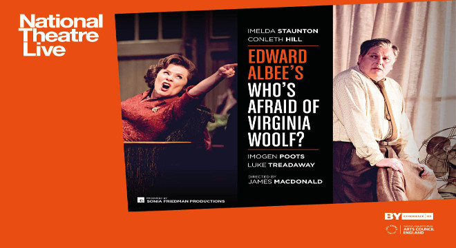 NTLIVE: WHO'S AFRAID OF VIRGINIA WOOLF?
