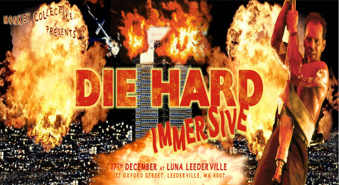 2429 MONKEY COLLECTIVE DIE HARD CHRISTMAS IMMERSIVE