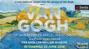 2498 ART ON SCREEN: VAN GOGH - OF WHEAT FIELDS AND CLOUDED SKIES