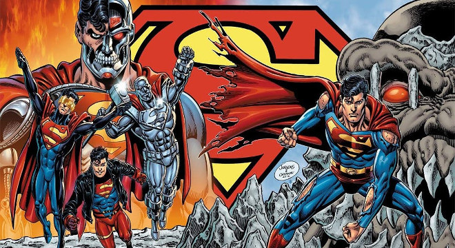 2883 THE DEATH OF SUPERMAN + THE REIGN OF THE SUPERMEN