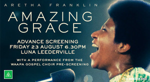 AMAZING GRACE PREVIEW SCREENING EVENT