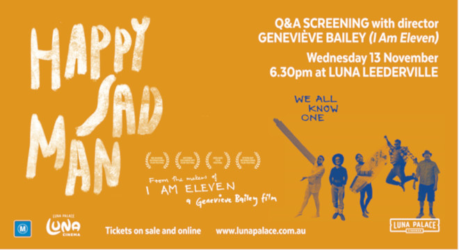 HAPPY SAD MAN ADVANCE DIRECTOR Q&A
