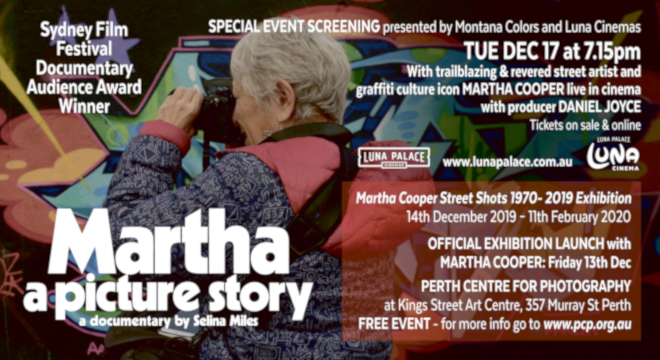 MARTHA: A PICTURE STORY Q&A WITH MARTHA COOPER