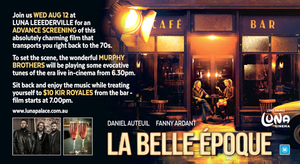 LA BELLE EPOQUE ADVANCE SCREENING with THE MURPHY BROTHERS